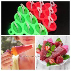 Форма силиконовая для мороженого, сорбета на 6 порций