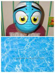 Шапочка для плавания бассейна рыбка bestway силиконовая. Выделяйтесь