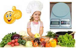 Надёжные кухонные электронные весы МХ-400 до 10 кг. Батарейки в комплекте