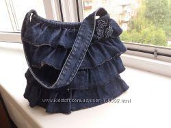Джинсовая сумочка для девочки подростка