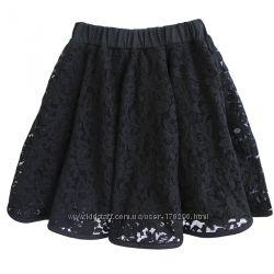 Школьная юбка, гипюр. Размеры 122-140.