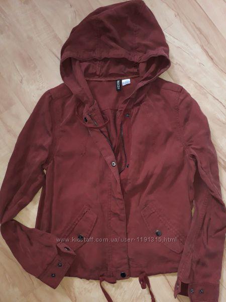 Курточка парка НМ тёмно-вишневая