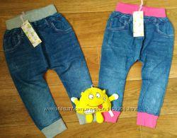 Модные джеггинсы для девочки