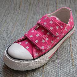 Розовые кеды для девочки B&G р 28-35