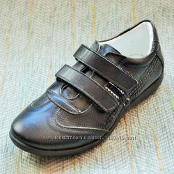Кожаные туфли кроссовки для девочки р 31-36 Bayrak Ortopedic Турция