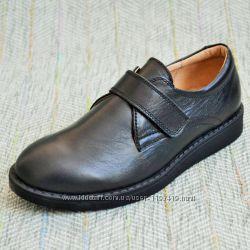 Школьные туфли для мальчика 11shoes р 27-36