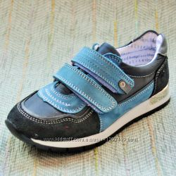 Кожаные кроссовки для мальчишек Toddler, 31-35