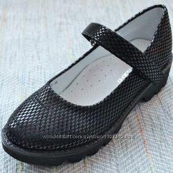 Туфли для девочки подростка, тракторная подошва р 32-37