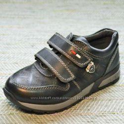 Кожаные туфли-кроссовки Турция 2 вида р. 28-30