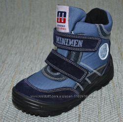 Ботинки для мальчика Minimen р 26-16, 5 см