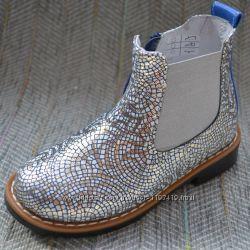 Модные ботинки на девочку Украина, р 27-29