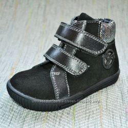 Замшевые ботиночки на девочку Украина р 21-26