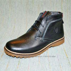 Шкіряні демісезонні черевики- розпродаж d2a4f594e2087