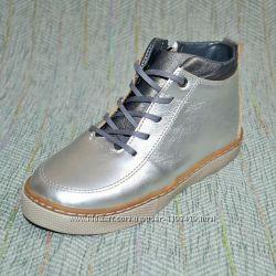 Демисезонные кожаные ботинки Украина р 32, 34