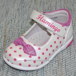 Туфли в горошек Flamingo р 21-25