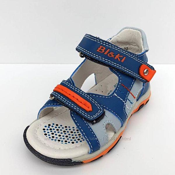 Детские сандалики на мальчика BiKi  р.21-26