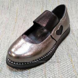 Школьные туфли на девочку, размер 30-37
