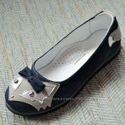 Замшевые туфли Palaris р 31-35