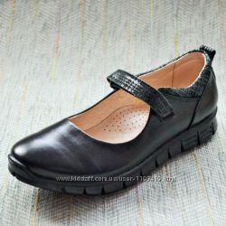 Кожаные спортивные туфли Palaris 38-24 см