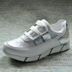 Женские кожаные кроссовки р 34 35 b6b243a7d1d19
