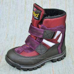 Зимние ботинки c мембраной, Турция р 26-36