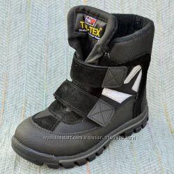 Зимние ботинки c мембраной Tofino р 26-36