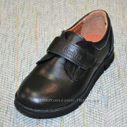 Школьные туфли на мальчика, размер 26-31
