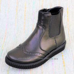 Демисезонные детские ботинки-челси р 30 31 35