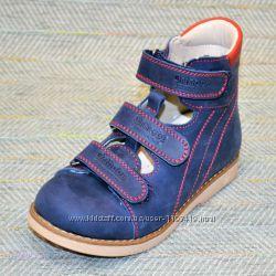Ортопедические туфли на мальчика р 25-28