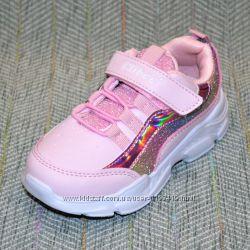 Детские кроссовки на девочку р 25-30
