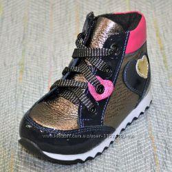 Демисезонные ботиночки для девочек р 22-27