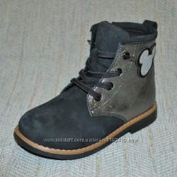 Демисезонные ботинки на девочку, р 27-31