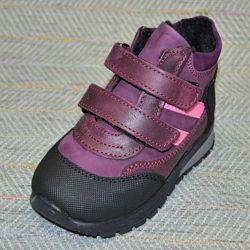 Демисезонные ботиночки на девочку, р 21-28