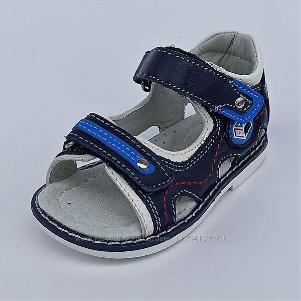 Детские сандалики на мальчика Clibee р 20-25