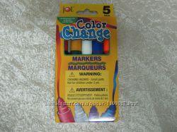 Фломастеры из США Волшебные - меняют цвета