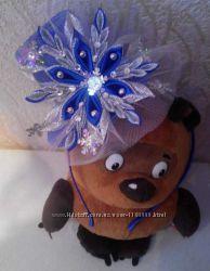 Новогодние обручи, шляпки, короны, повязки