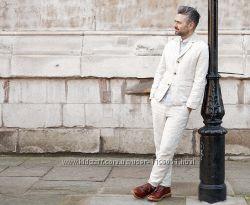Льняной мужской пиджак. Натуральный лен. Разные цвета