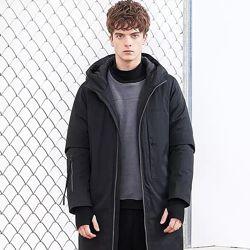 Куртка длинная, пальто футбольное, командная парадная куртка зима, деми