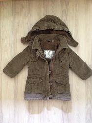 Тёплое пальто на осень