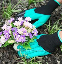 Перчатки для работ в саду - новые