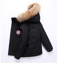 Куртка пуховик мужская зимняя натур &acute&acuteDown Jacket&acute&acute до -30 С