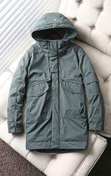 Куртка, пуховик парка зимняя мужская