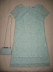 753a3b8f93b Красивое коктейльное платье из гипюра Orsay и клатч Parfois ...
