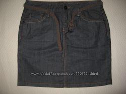Новая фирменная джинсовая мини-юбка Мехх Германия, р. 38 евро, 46 укр.