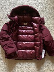 Новая, теплая и красивая куртка оверсайз Uniqlo Япония, размер М