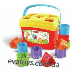 Развивающий набор Первые кубики для малышей от Fisher-Price