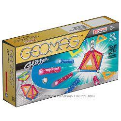 Geomag Color GLITTER 22 детали Магнитный конструктор Геомаг 3