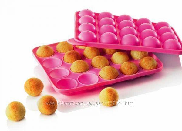 Силіконова форма для кейк-попсів, цукерок Cace Pops для випікання