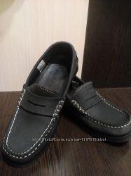 мокасины Лоферы туфли кожаные 36-37 р Overland Португалия