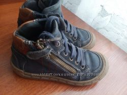 Ботинки кожаные 27 р 17 см. Vera Pelle Отличное состояние